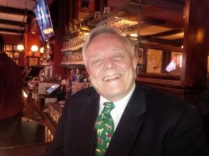 Gentleman Dave Johnson at his Belmont Sardi's Soiree.