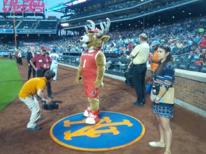Lucas, the Stag, not Duda, waits on deck