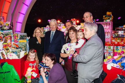 ROONEY TOY DRIVE, CATHOLIC CHARITIES