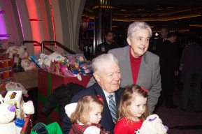 ROONEY TOY DRIVE, SISTER AND KIDS
