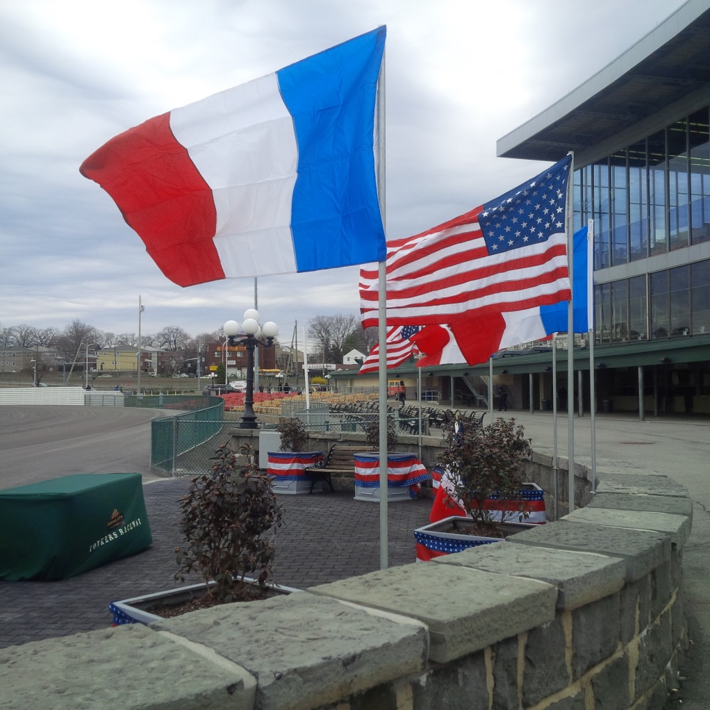 FRENCH FLAGS IN DRIVERS CUP.jpg