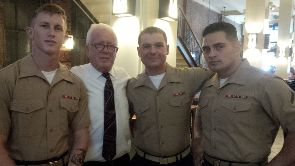 FLEET WEEK MARINES WITH DUBLIN DANNY.jpg