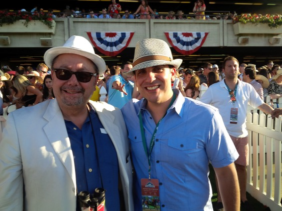 JOHN AND JOE BUONO AT BELMONT
