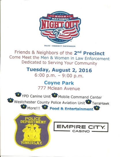 EMPIRE CITY POLICE EVENT FLYER