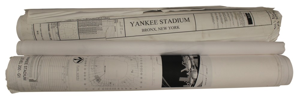 YANKEE STADIUM BLUEPRINTS