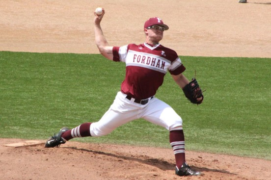 MURPHY, JIMMY IN FORDHAM UNIFORM