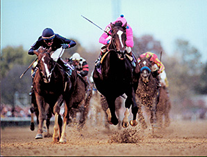TIZNOW WINS BREEDERS CUP