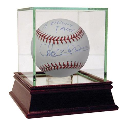 CHAZZ BASEBALL INSCRIBED BRONX TALE
